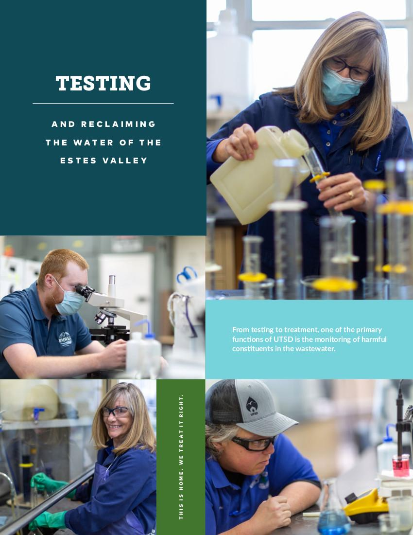 Testing and reclaiming the water of the Estes Valley